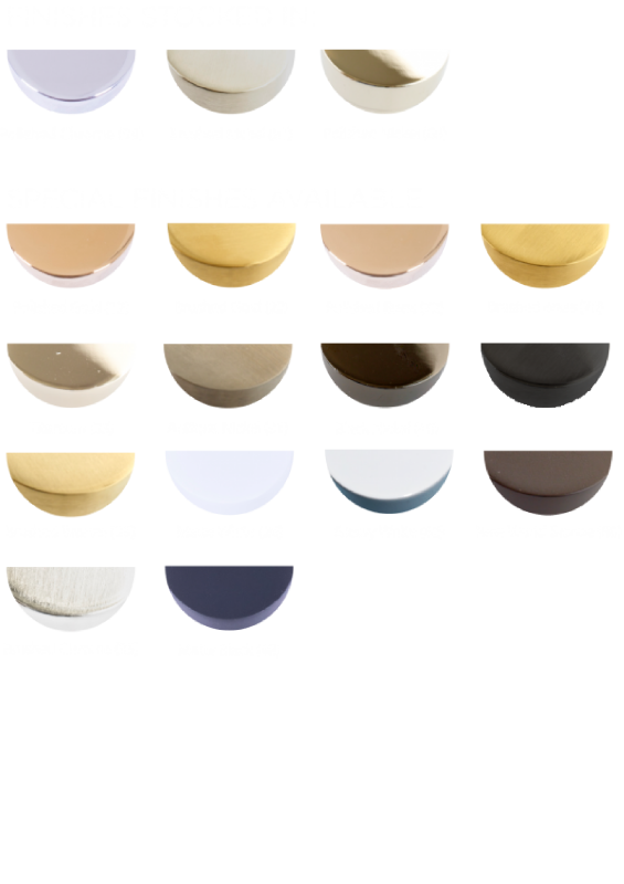 Available Finishes - Stock-99 81 68 - SF except 55 69 21 75 65