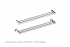 "Double Towel Bar 18"", 24"""